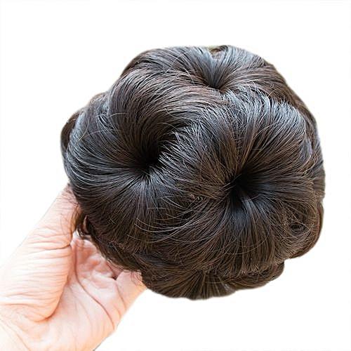 Generic Technologg Beauty Pretty Woman Girl Ponytail Holder Hairpiece Wig  Hair Ring Bun-As Show 23b2dcd9d05