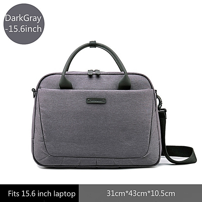 59579540e93 2019 New Women's Briefcase Office Laptop Bags For Ladies Computer Work  Shoulder Messenger Business Bag Handbag Men Travel Bags(DarkGray 15.6inch)