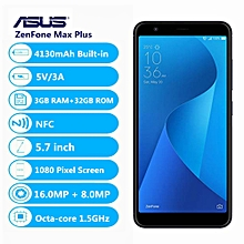 ZenFone Max Plus ( M1 ) 4G 5.7 Inch Android N 3GB+32GB-Black