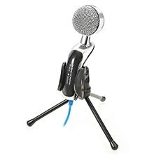 Yanmai SF-922B USB Condenser Sound Microphone Clear Digital Sound-BLUE AND BLACK