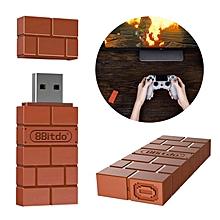 Portable 8Bitdo USB Wireless Bluetooth Adapter Gamepad Receiver for Windows/Switch Lightweight and Mac & Raspberry Pi WWD