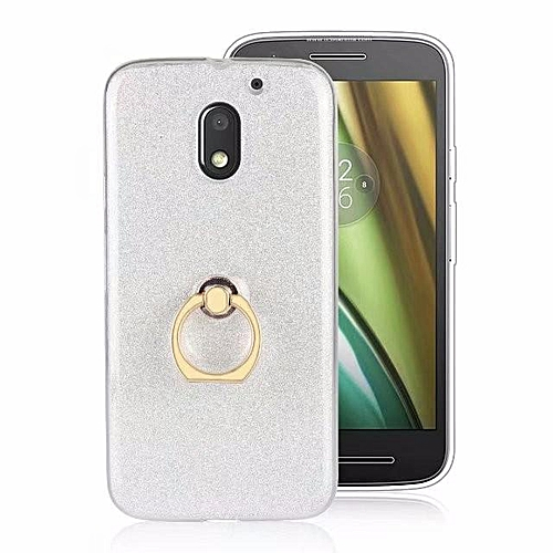new concept 7add3 3748e Metal Buckle Ring TPU Phone Cover Case for Motorola Moto E3