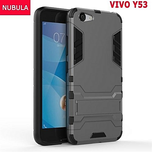 save off 6e30d 9e872 360 Degrees Ultra-thin Hard Back Cover For VIVO Y53 Detachable 2 In 1  Hybrid Armor Shell Case Dual-Layer Full Protective Shockproof Case  Cover/Anti ...