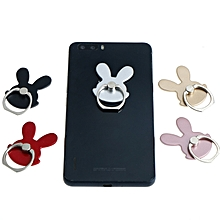 Universal Cute Rabbit Foldable Finger Ring Holder Desktop Stand For Samsung Xiaomi Mobile Phone