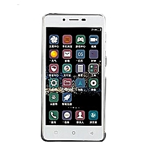 "Smart phone TWO Sim Card Mobile Cell Android MTK6572 5.0"" TN(854*480) LCD 1400MA-white"