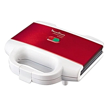 Moulinex Sandwich Maker - Maroon