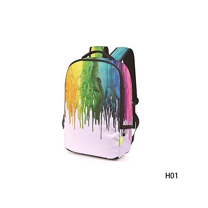 8171f560f5 1PC Galaxy School Bag Girl Boy Travel Rucksack Laptop Bookbag Shoulder  Backpacks