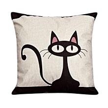 Throw Pillow Case Sofa Waist Pillowcases Car Cushion Cover Home Decor Cat