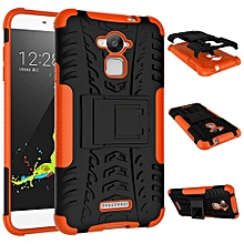 "For Coolpad [Note 3] Case, Hard PC+Soft TPU Shockproof Tough Dual Layer Cover Shell For 5.5"" Coolpad 8676, Orange"
