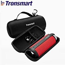 Tronsmart T6 Carrying Case Portable Protector Speaker Bag With Carabiner Hocks For Bluetooth Speaker Box Black