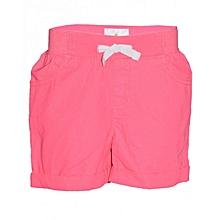 Pink Kids Shorts