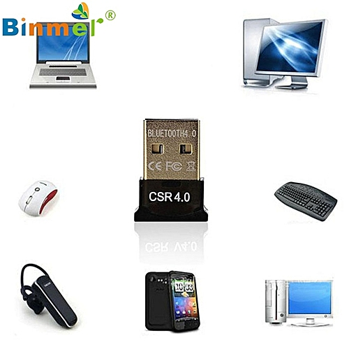 U USB Bluetooth Dongle 4 0 CSR Dual Mode Wireless Adapters For Windows 10  Laptop PC Good Packge Driver Free N0224