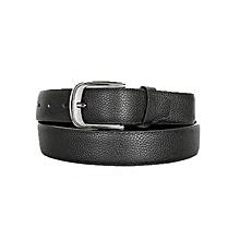 Stylish Black P.U Leather Belt