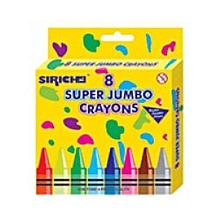 Crayons 8 Super Jumbo