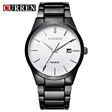 Quartz Watch Men Brand Military Wrist Watches Men Full Steel Famous Business Watch Men Waterproof