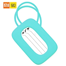90fun Colorful Luggage Case Tag Label Travel Accessories Travel Suitcase Baggage Tag Cute Silicone Baggage Tag For Family Travel
