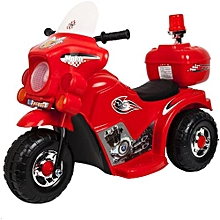 Small Size Kid's Ride On Motorcycle-RED(Assembled)