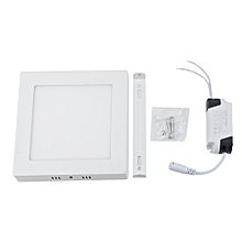 6/12/18/24W Square LED Flush Mounted Ceiling Down Panel Light AC90-265V