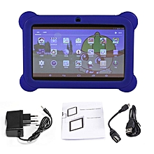 Q88 7 inch Children Tablet 512MB+4GB A33 Quad Core Android 4.4 Tablet PC blue