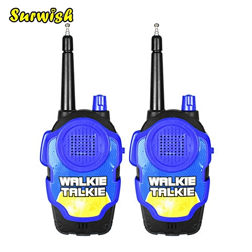 d82bfd738 Generic 2Pcs Portable High Simulation Battery-opwered Walkie Talkie Two-Way  Radio Walkie Talkies for Kids