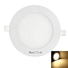 1PCS 7W Ac85 - 265V 35 - Smd Cold White / Warm White Light Led Round Panel Light - Warn White