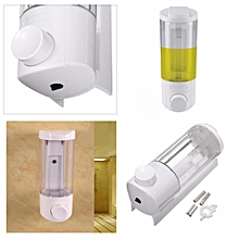 400ML Soap Dispenser Wall Mount Sanitizer Shampoo Bathroom Shower Kitchen ABS