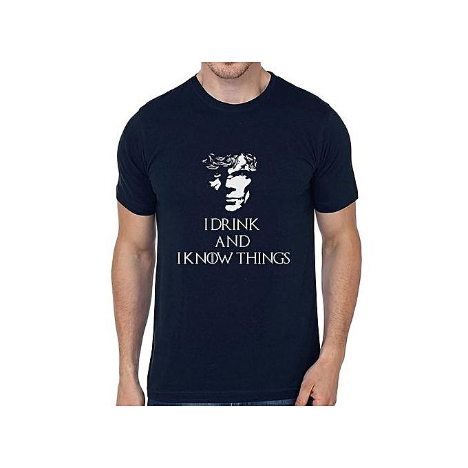 077bb3b6 Men's Summer Fashion T-shirt Printed Game Of Thrones T-shirts Men's Punk T