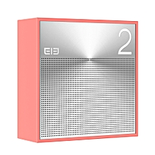 ELe - Box Bluetooth 4.1 Portable Hi-Fi Wireless Speaker built-in Microphone for Handfree Phone Call - Pink