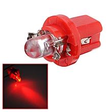 T5 Gauge LED Dashboard Dash Wedge Side Light Brake Rear Bulb Red B8.5D