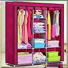 Portable Wardrobe  - 3 Columns -wooden