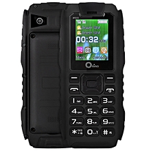 XP7 1.77 inch Quad Band un-locked Phone SC6531 Waterproof Recorder Camera Flashlight Bluetooth-BLACK