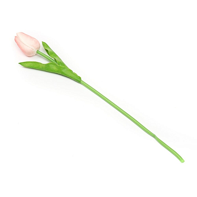 ... 10pcs Artificial Tulip Flower Latex Real Touch Bridal Wedding Bouquet Home Decor Pink ...