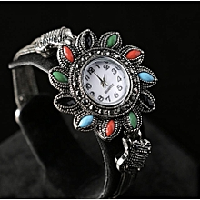 Antique silver Resin Bracelet Watch