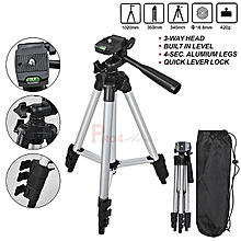 Aluminum Camera Tripod With Bag For All Brand Cameras