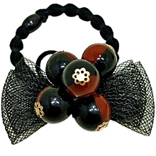 Elastic Rope Ring Pearl Hairband Fashion Women Girls Hair Band Ponytail Holder E