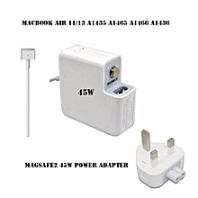 Apple 45w MagSafe 2 Power Adapter for Apple A1436 MacBook Air
