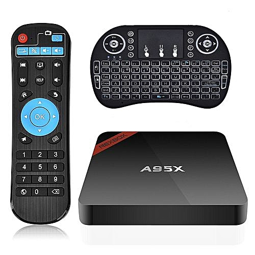 Android TV Box NEXBOX A95X 1GB 8GB Android 6 0 TV Box S905X Quad-Core 4K  HDR Ultra-HD H265 VP9 Ethernet WiFi Bluetooth 4 0 Set-top Box With I8  Backlit