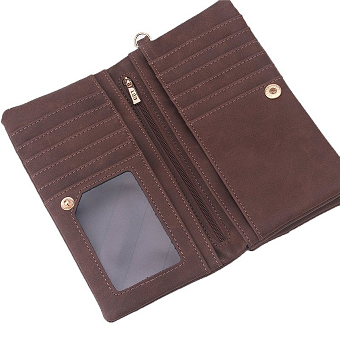 ... Yingwei High Quality Ladies PU Leather Wallet Portable Purse Coffee ...