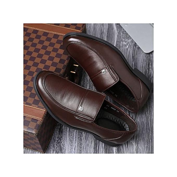 Fashion Men Dress Shoes Black Wedding Flats Formal Shoes