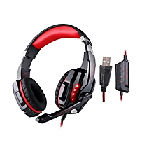 KOTION EACH G9000 USB 7.1 Surround Sound Gaming Headphone Headset Earphone with Microphone LED Light