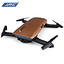 ELFIE+ Foldable RC Pocket Selfie Drone RTF WiFi FPV 720P HD - Coffee