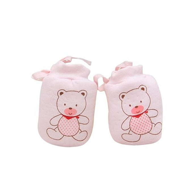 34277096ef6e Fashion Braveayong 1 Pairs Cute Baby Infant Anti Scratch Mittens ...