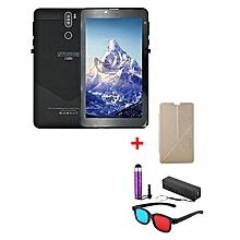 "A7 Plus Kids Tablet – 7""  – 1GB RAM – 16GB ROM – Wi-Fi - 4G (Single SIM) - Black with with Free Stylus, Cover, Powerbank & 3D Glasses"