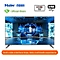 "Haier 55"" - UHD SMART TV - Black. - black"