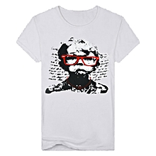 Singedan Shop Men's Casual Funny Boy Printed Short Sleeve T-shirt Pullover Top Blouse Tee