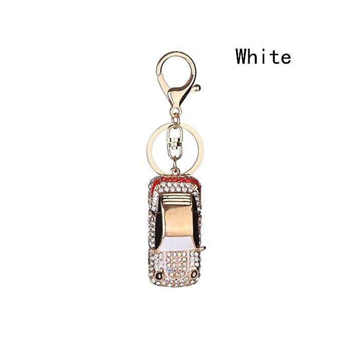 Fashion Car And Roller Skates Shoes Keyring Creative Diamond Charm Pendant Key  Chain Gift 518e465db