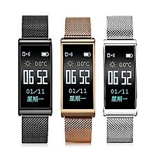 XANES X3 0.96'' IP68 Waterproof Heart Rate Blood Pressure Monitor Sport Fitness Smart Watch mi band