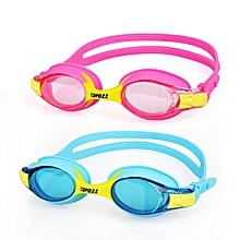 COPOZZ HD Children Goggles Anti Fog Waterproof Pool Swimming Glasses Kids Child Beginner Equipment