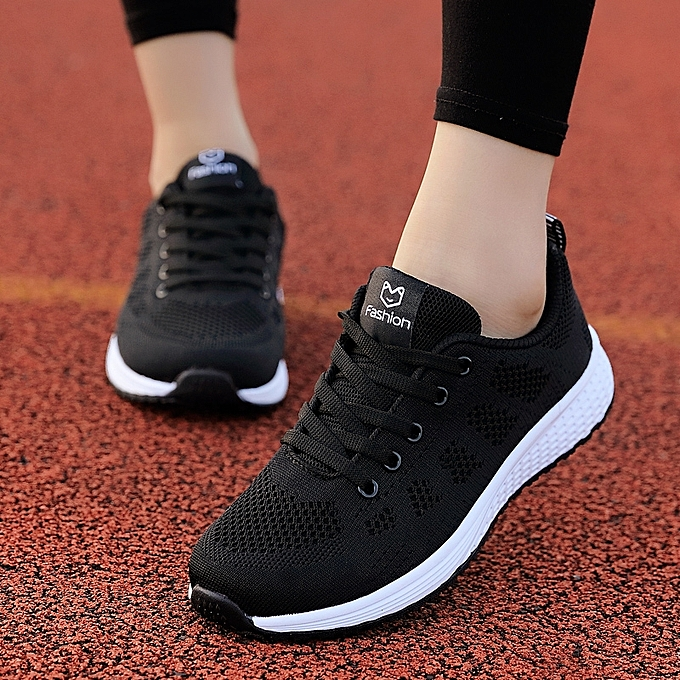 Fashion Women Breathable Mesh Sneakers Black   Best Price  f8cb71524