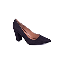 Blue Slip On Women's Doll Shoes